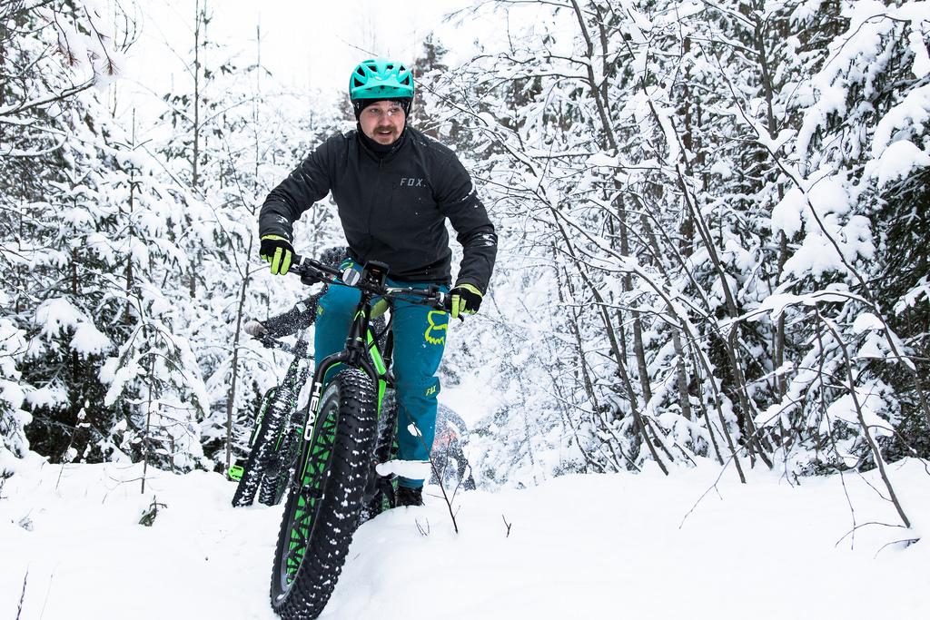 Att tänka på när du cyklar på vintern